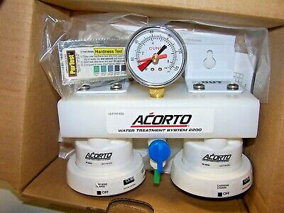 Cuno Acorto Water Treatment System 2200 Water Filter Systems Iceassure2 Manifold
