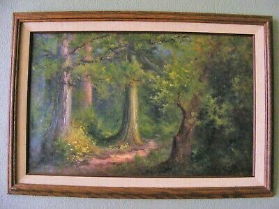 Frank Lucien Heath Original Signed Oil Painting 1904