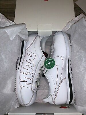 official photos 850b2 44ebd NIKE CORTEZ KENNY 1 Kendrick Lamar Damn White Gym Red US Size 9