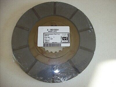 Lot of 2 - Tractor Brake Disc 303135241 ~ A-303135241