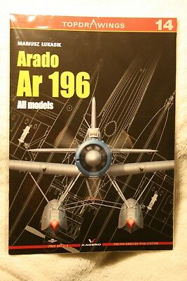 Arado Ar196 All Models Top Drawings 14 7014 FREE DECALS Kagero