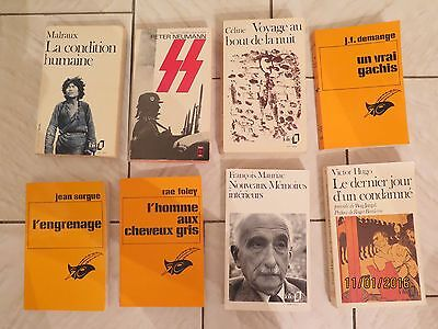 Lot de 8 livres de collections diverses
