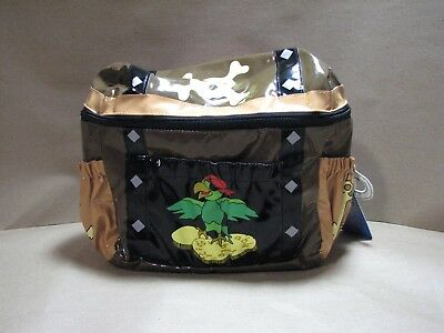 be0cd5f6de6 Kidorable Pirate Chest Backpack Child New NWT Skull Crossbones Parrot