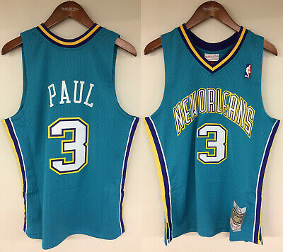 13033a78c7ce Chris Paul New Orleans Hornets Mitchell   Ness NBA 2005 Rookie Authentic  Jersey
