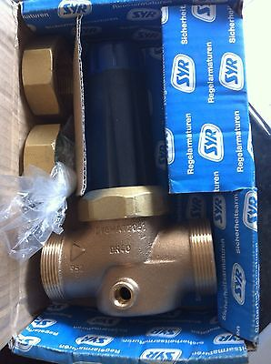 """RWC-SYR PRED 350 005 Commercial 1 1/2"""" MBSP 315HC Pressure Reducing Valve DN40"""
