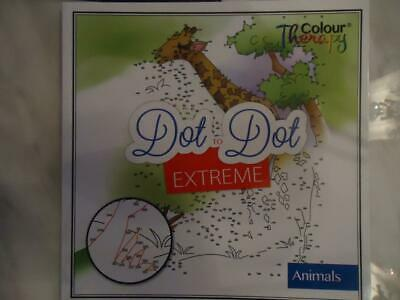 Dot To Dot Extreme - Animals - Adult Difficulty Activity Book - Top Quality
