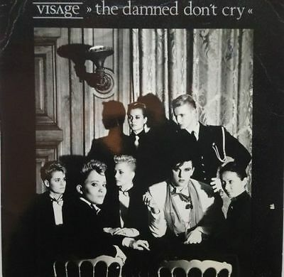 """Visage - The Damned Don't Cry - Vinyl Record 7"""" 45 RPM"""
