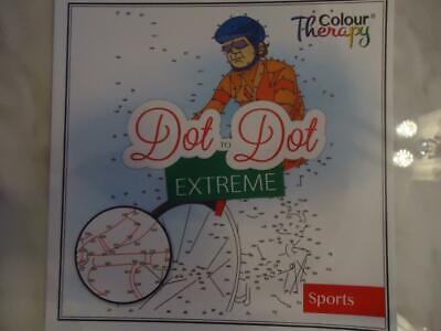 Dot To Dot Extreme - Sports - Adult Difficulty Activity Book - Top Quality