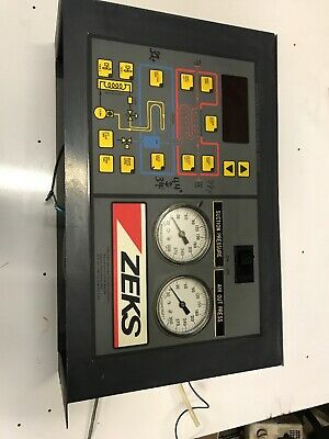 ZEKS Front Cover Panel HEATSINK CYCLING REFRIGERATED DRYER CONTROL UNIT Used