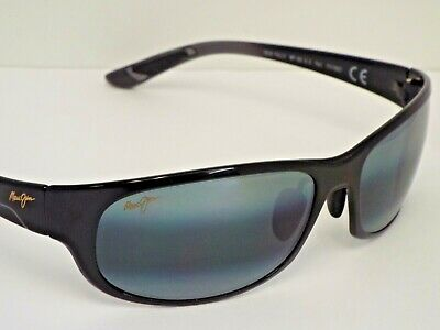 2be5841253ff Authentic MAUI JIM 417-02J TWIN FALLS Black Neutral Grey Polarzd Sunglasses   299