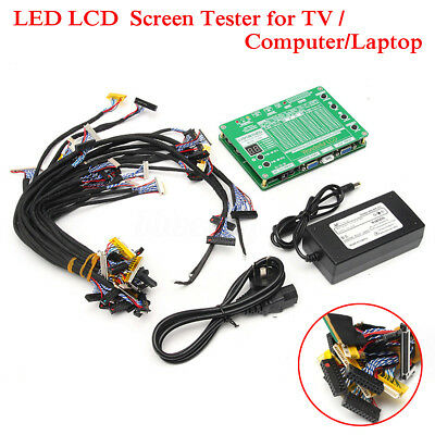 LED LCD Screen Tester Repair For TV/Laptop/Computer W/ 29PCS Lvds Cable