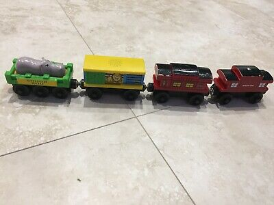 Thomas The Tank Engine. Circus Carriages. Wooden Railway. Brio