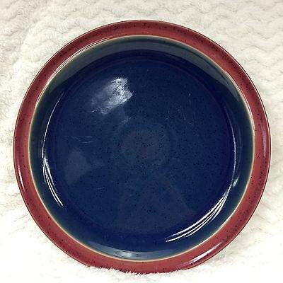 Denby Langley Harlequin Speckle Dinner Plate Blue/Red Replacement