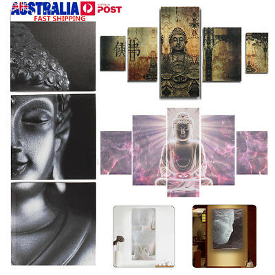 Buddha Canvas Painting Print Picture Room Home Wall Art Decor Framed/Unframed