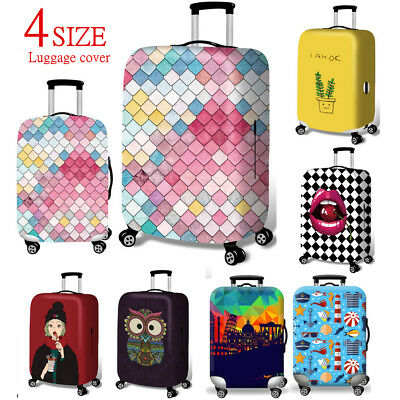 Elastic Luggage Suitcase Cover Dustproof Protector Case Protective Bag S/M/L/XL