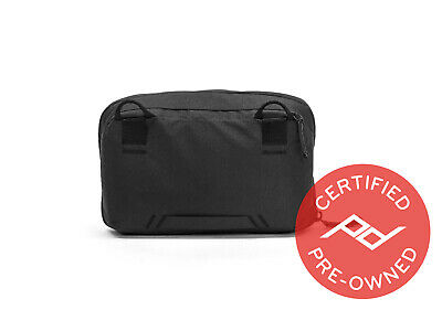 Peak Design Wash Pouch Black (Lifetime Warranty) - PD Certified