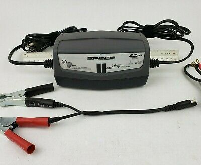 Schumacher 1.5 Amp Trickle Charger Battery Maintainer Car 6v 12v Volt Motorcycle
