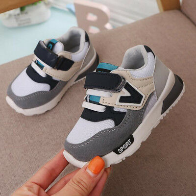 Girls Boys Running Trainers Shoes Kids Children Comfort Sports School Shoes Size