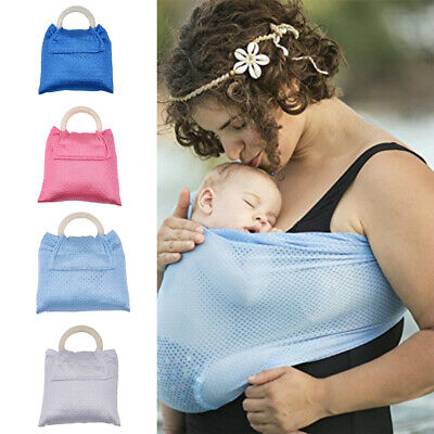 9ac94278bd0 Water Sling Summer Baby Infant Toddler Stretchy Carrier Water Pool Mesh  Wraps