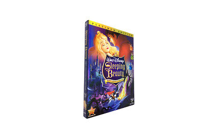 Sleeping Beauty (DVD,2008,2-Disc Set)-50th Anniversary Edition  Free Shipping