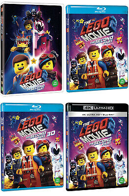 The Lego Movie 2: The Second Part - 4K, 3D, Blu-ray, DVD (2019) / Pick format.