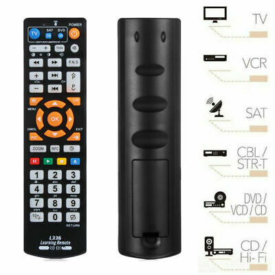 Universal Smart Remote Control Controller Learning Function For TV CBL DVD SAT