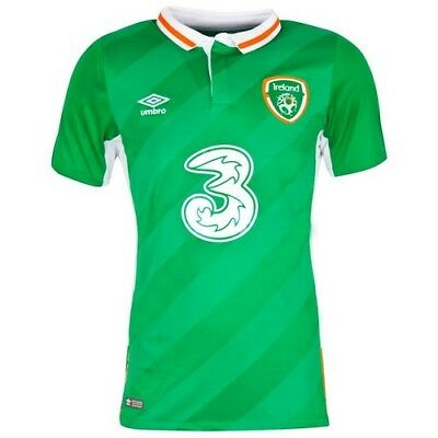 f7ab98451e0 2016 Umbro Republic of Ireland Soccer Jersey Green Men's Large and X-Large
