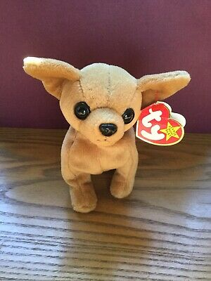 e515c46a1cd TY TINY THE CHIHUAHUA BEANIE BABY plush dog stuffed animal -  5.00 ...