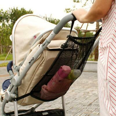 Pram Baby Carriage Hanging Bag Mesh Net Storage Bag Baby Stroller Accessories