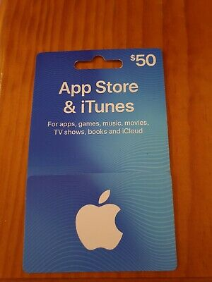 $50 Apple App Store & iTunes Gift Card (unwanted birthday present)