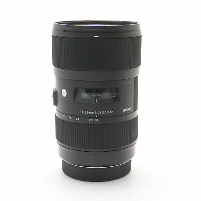 SIGMA A 18-35mm F1.8 DC HSM (for Canon EF-S mount) #211
