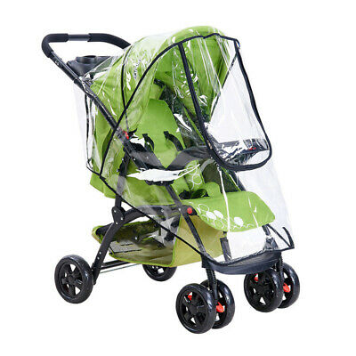 Clear Rain Cover Raincover Universal For Hauck Shopper Sport Buggy Pushchair NEW