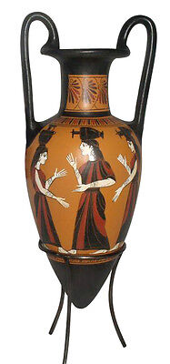 Pointed Amphora Ancient Greek Vase Museum Replica Reproduction