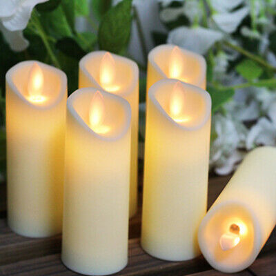 LED Tealight Flameless Candle Light Realistic Dancing Flame Battery Included UK