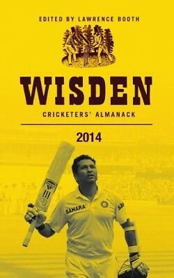 New, Wisden Cricketers' Almanack 2014, Lawrence Booth, Book