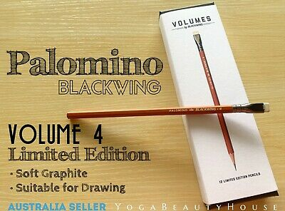 Palomino Blackwing Limited Edition 1pc Volume 4 Soft Graphite Pencil pen art