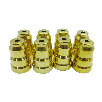 #49 QTY 8 FULL SET FORD POWERSTROKE 7.3L FUEL INJECTOR CUP // SLEEVE
