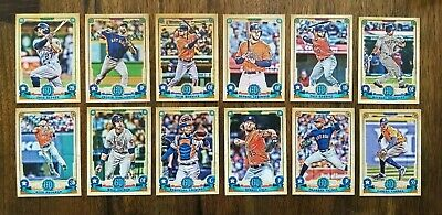 HOUSTON ASTROS 2019 Topps Gypsy Queen BASE TEAM SET (12 Cards) Kyle Tucker RC+