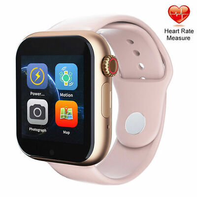 Silver Bluetooth Smart Watch Answer Call for Samsung Galaxy Note 8 S7 Edge S9 S8