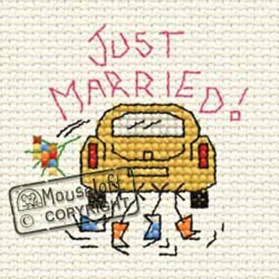Special Occasions Cross Stitch Kit - Just Married