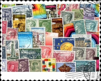 Luxembourg : 50 Different Stamps Collection