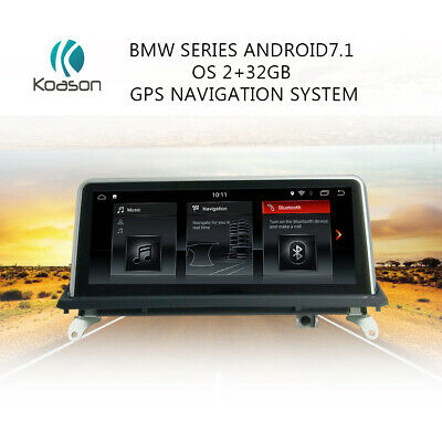 """for BMW X5 X5m E70 X6  E71 2007-2013 10.25"""" Screen Android7.1 Car GPS navigation"""