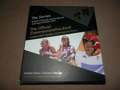 London Olympics 2012 Commemorative Book Limited Edition Collector's Box Set