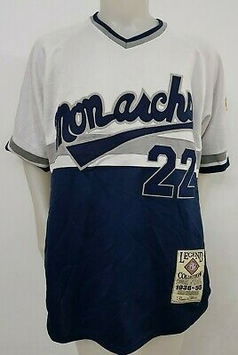 Maglia Shirt Baseball Monarchs O'neil Collection America Tag.xl Jersey Old F4