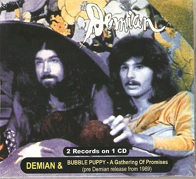 "Demian: ""S/T"" & Bubble Puppy: ""A Gathering.."" (Digipak-CD)"