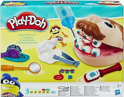 Hasbro Play-Doh Doctor Drill-n-Fill Set