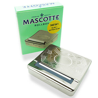 Mascotte Cigarette Rolling Machine Roll Tin Box SLIM + EXTRA slim NEW