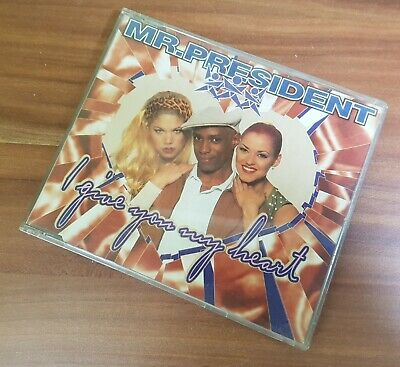 CD Mr.President I Give you my Heart (Maxi CD)