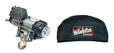 WARRIOR Ninja C3500 12v Electric Winch & Waterproof Winch Cover