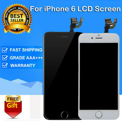 Display For iPhone6 A1549 A1586 LCD Screen Full Replacement W/ Button&Camera US